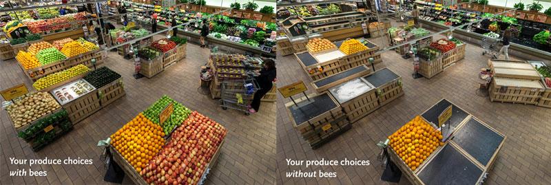 whole foods supermercado sin alimentos sin abejas