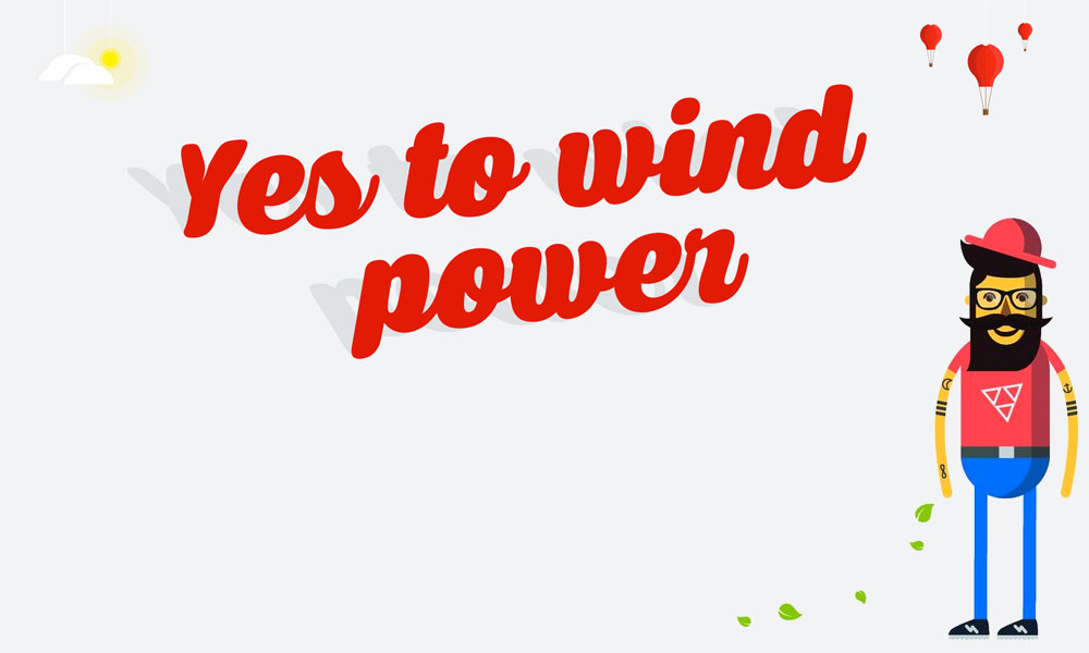 yes to wind power asociación española eolica