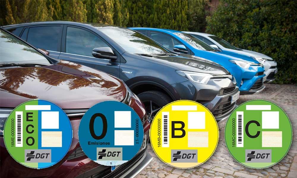 DGT Clasificación vehículos contaminantes según emisiones
