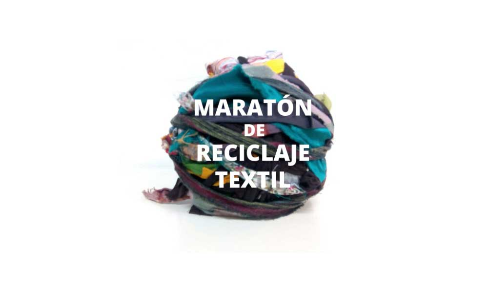 Maratón de reciclaje textil