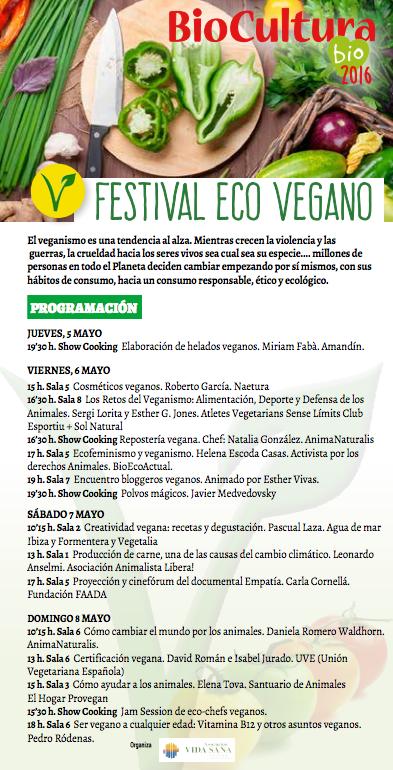 ecovegan festival biocultura barcelona