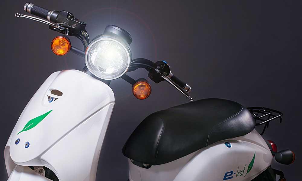 moto eléctrica e-leaf