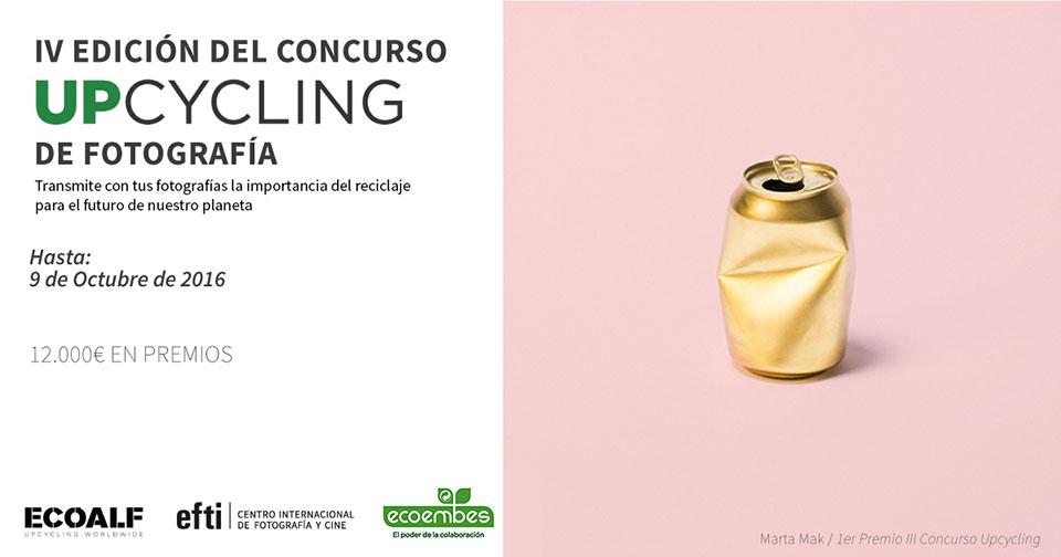 ecoembes upcycling concurso fotografía reciclaje