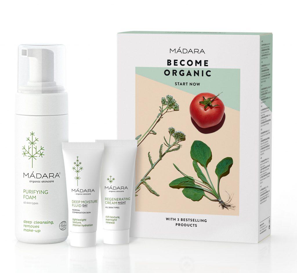 Become Organic Set Mádara belleza orgánica