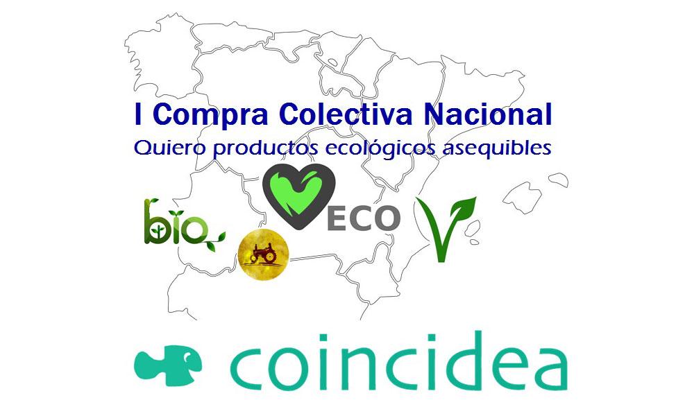 Coincidea plataforma de compra colectiva, grups de consumo, productos ecológicos en España