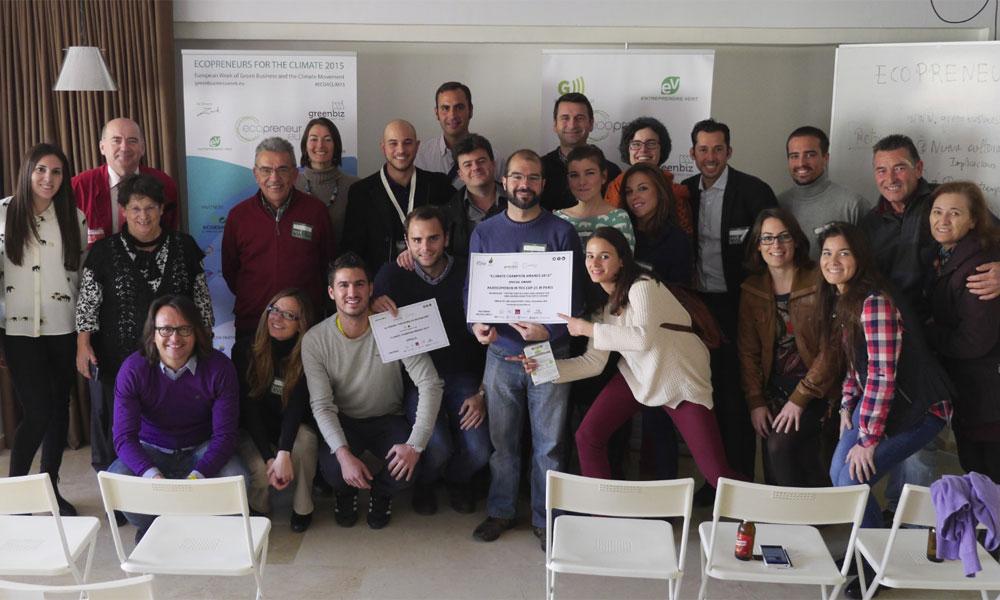 Ecoemprendedores, campeones para mejorar el clima
