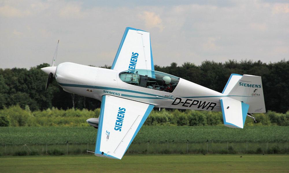 Avión electrico hibrido Siemens Airbus