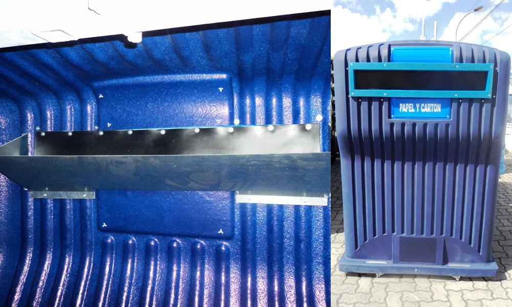 Madrid instala contenedores antihurto para evitar el robo de papel