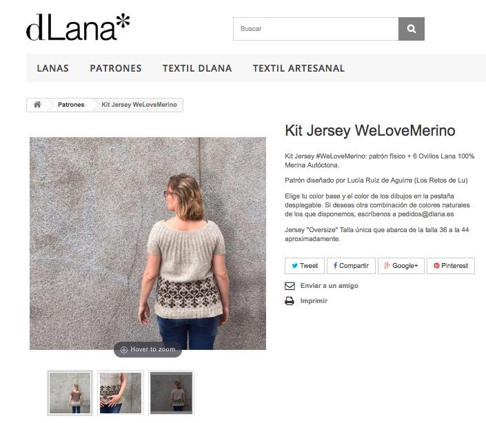 dlana patrones en lana 100% merina moda sostenible