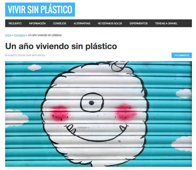 vivir sin plástico tienda objetos sin plástico