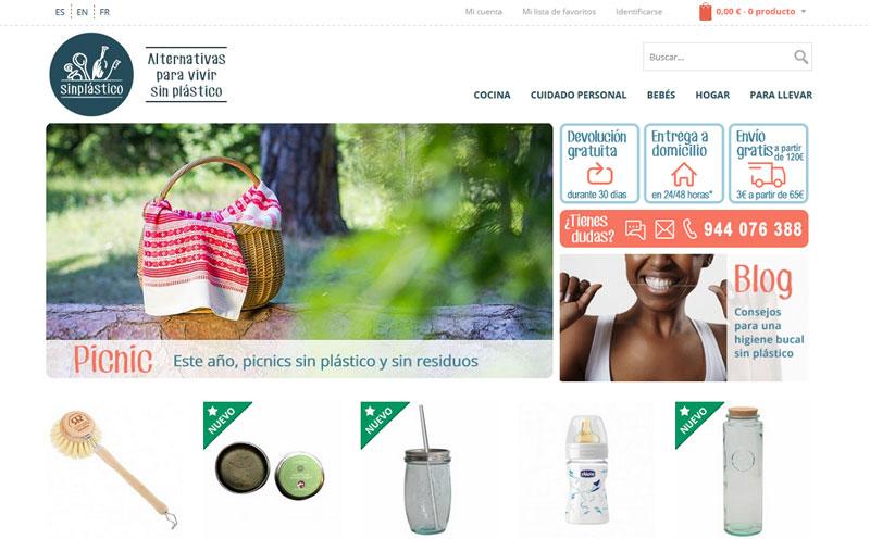 sin plastico tienda on line web de objetos sin plástico