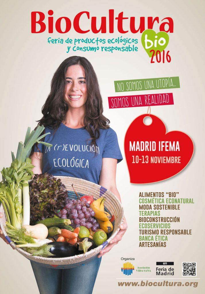 Biocultura Madrid 2016 programa actividades