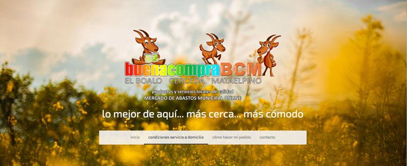Mercado de abastos digital comercio local El Boalo Cerceda Mataelpino