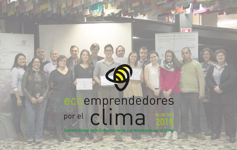 ecoemprendedores por el clima Luis Morales Carballo emprendedores verdes