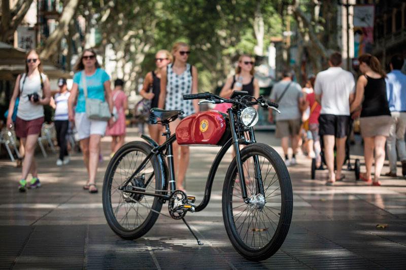 bicicleta eléctrica, beneficios, revolución social
