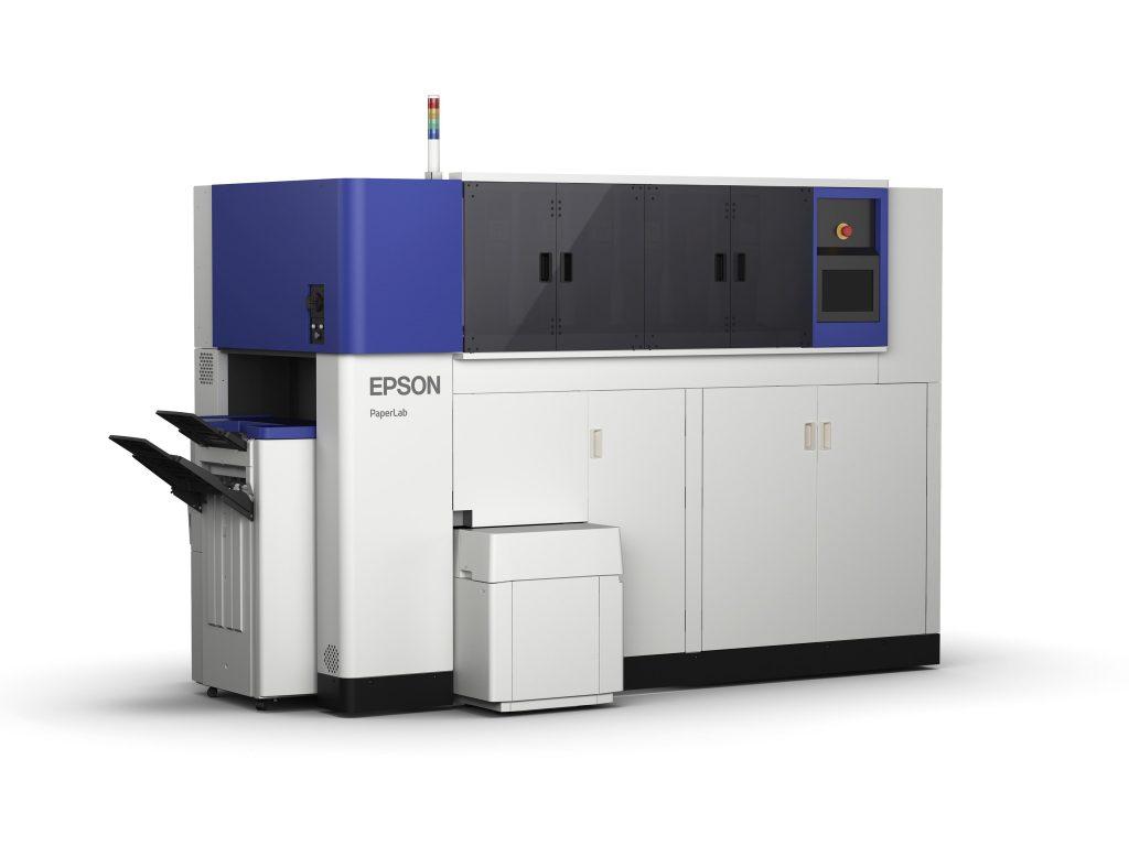 epson paperlab fabricar papel en la oficina