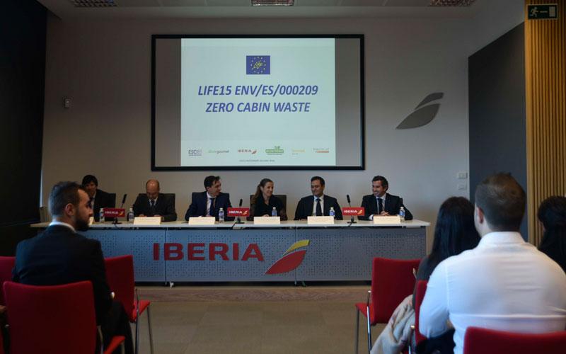 Life zero wasting Iberia Ecoembes aeropuerto aviones