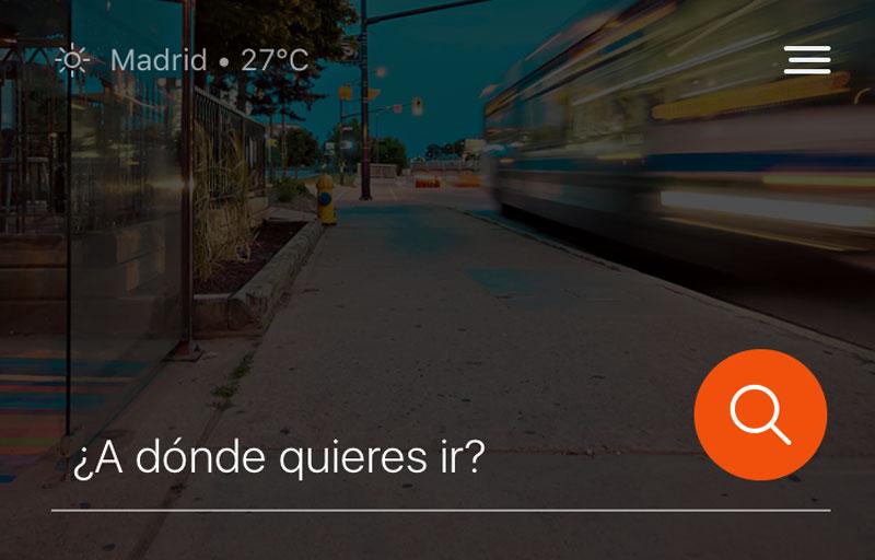 Moovit Aplicación transporte colectivo movilidad sostenible app transporte público