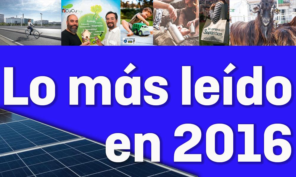 lo más leído el mundo ecológico 2016