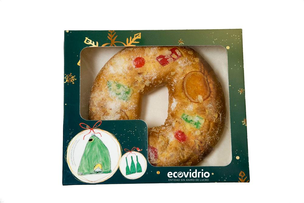 Ecovidrio roscon de reyes navidad madrid reciclaje