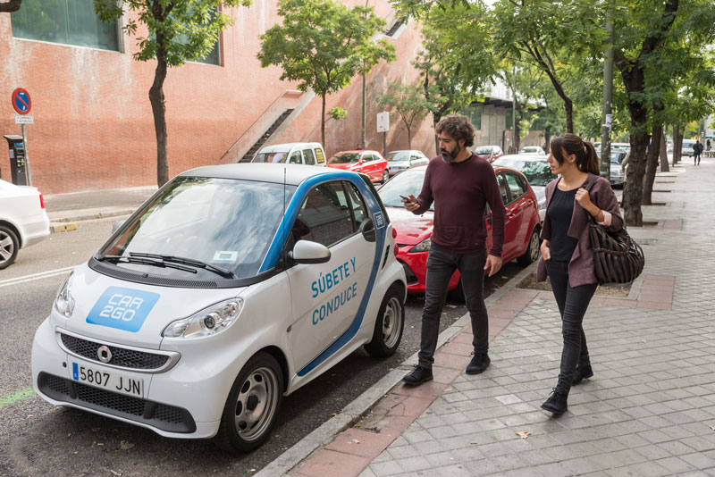 car2go carsharing madrid coche compartido flexible protocolo contaminación españa