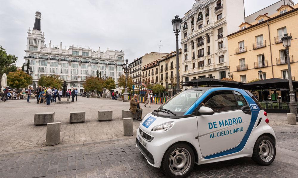 car2go carsharing madrid coche compartido protocolo contaminación españa