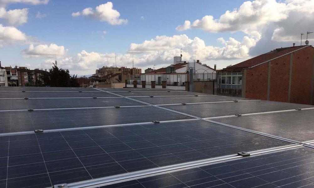Ecooo Som Energía Alianza Francesa Sabadell Reparación de planta Foltovoltaica