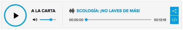 CAre label project AEG entrevista Cadena SER El Mundo Ecológico Ana Molarinho