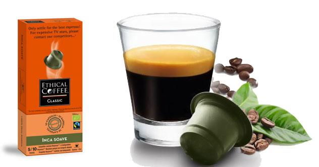 café ético cápsulas biodegradables reciclaje cápsulas café
