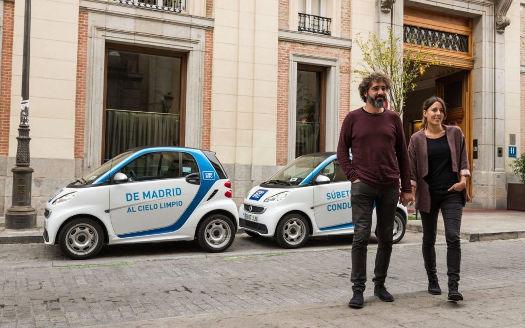 car2go carsharing madrid usuarios empresas