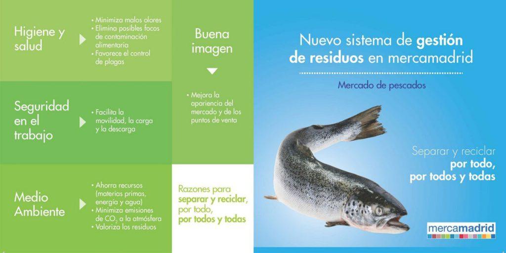 Reciclar residuos valorización Mercamadrid