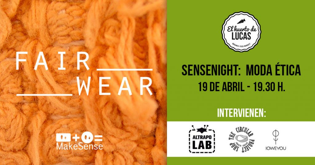 Moda sostenible El Huerto de Lucas Sense Night