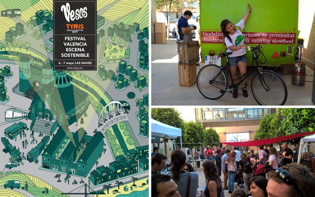 Festival Vesos Sostenibilidad musica mercado cultura talleres permacultura