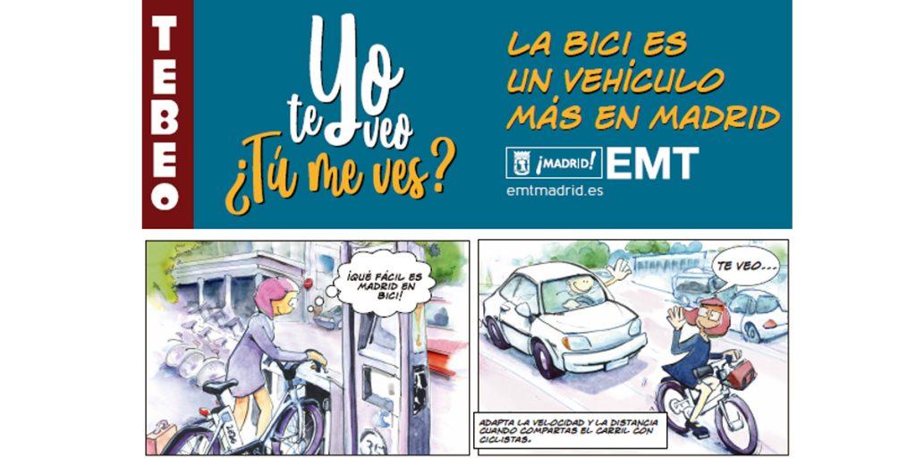 convivencia bici Madrid 2