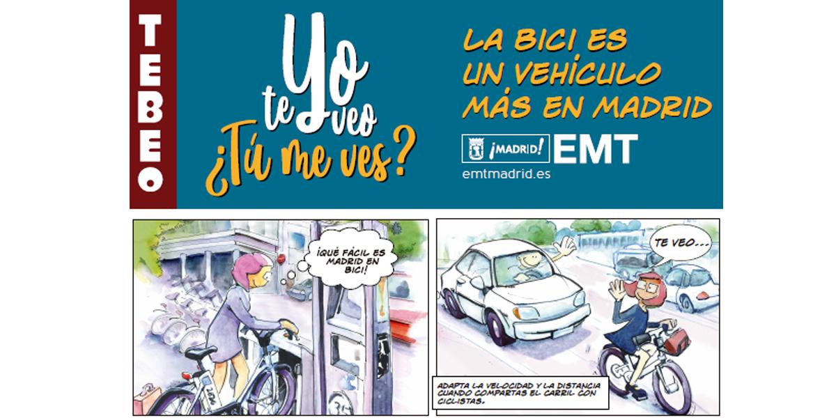 La bici, un vehículo más