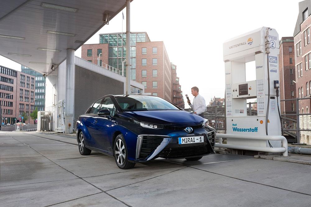 hidrogeneras vehiculos hidrogeno Japón Toyota