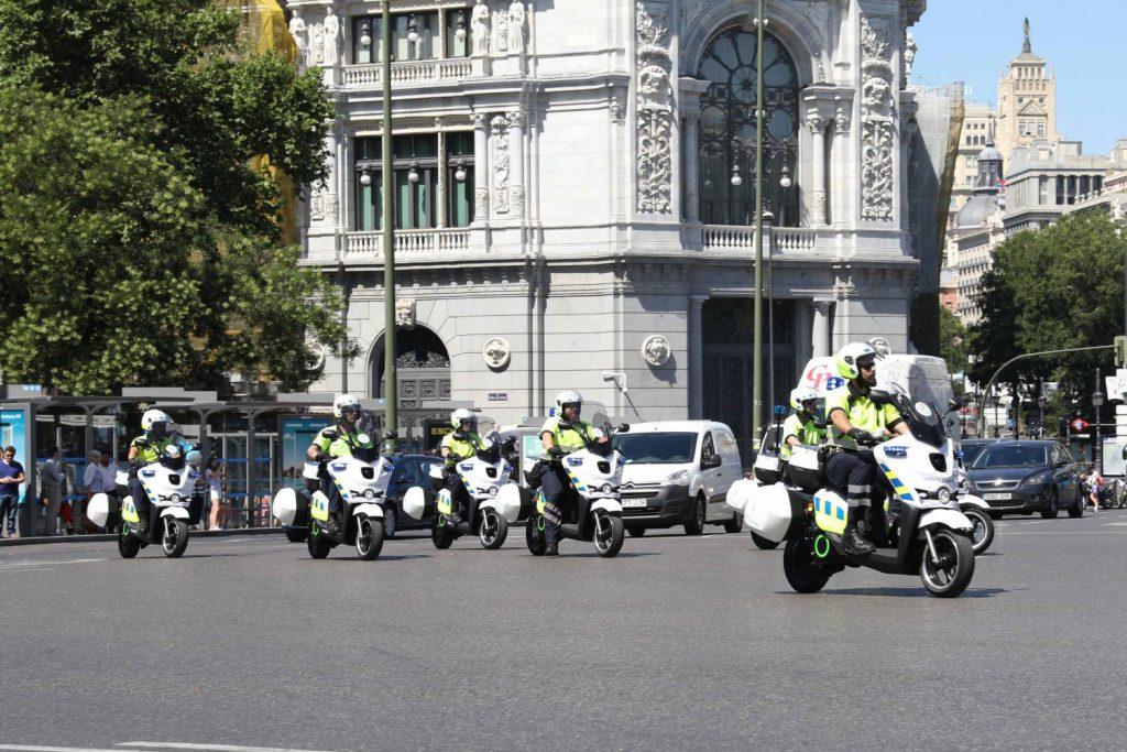Motos electricas ayuntamiento de Madrid Scutum