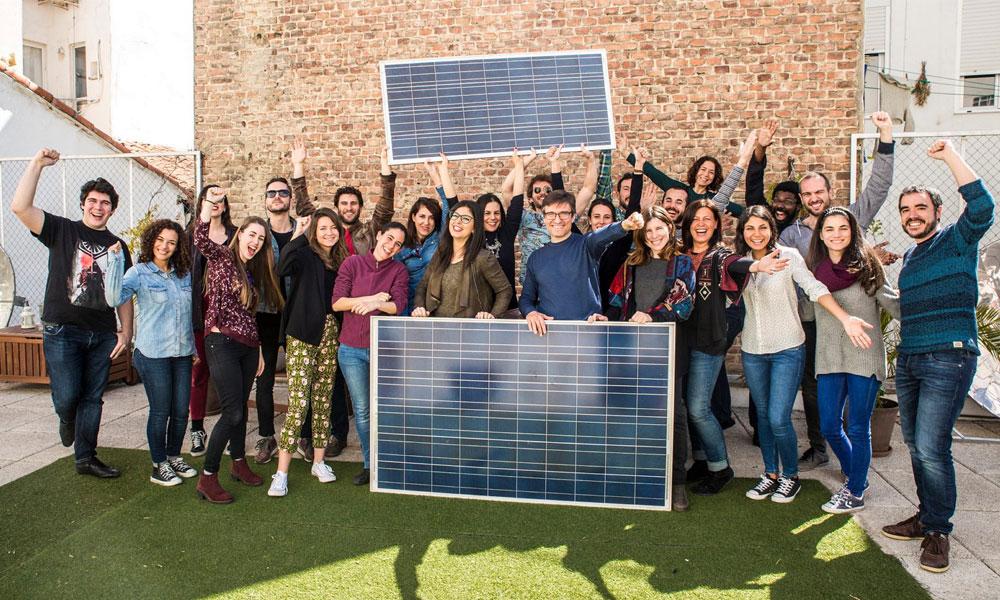 Oleada solar ecooo Triodos Bank energías renovables