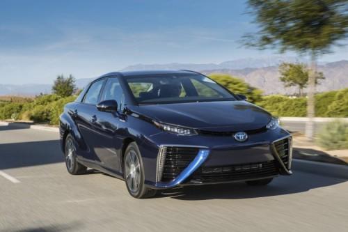 Asociación Española del Hidrógeno Toyota Mirai coche pila de combustible