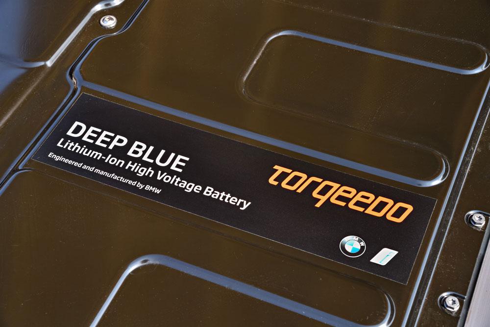 BMW I3 motor Torqeedo 5