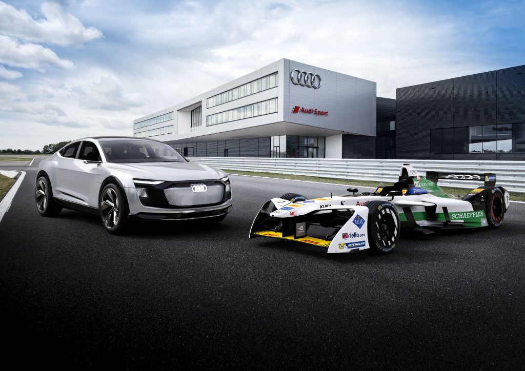 Audi e-tron FE04 Fórmula 1