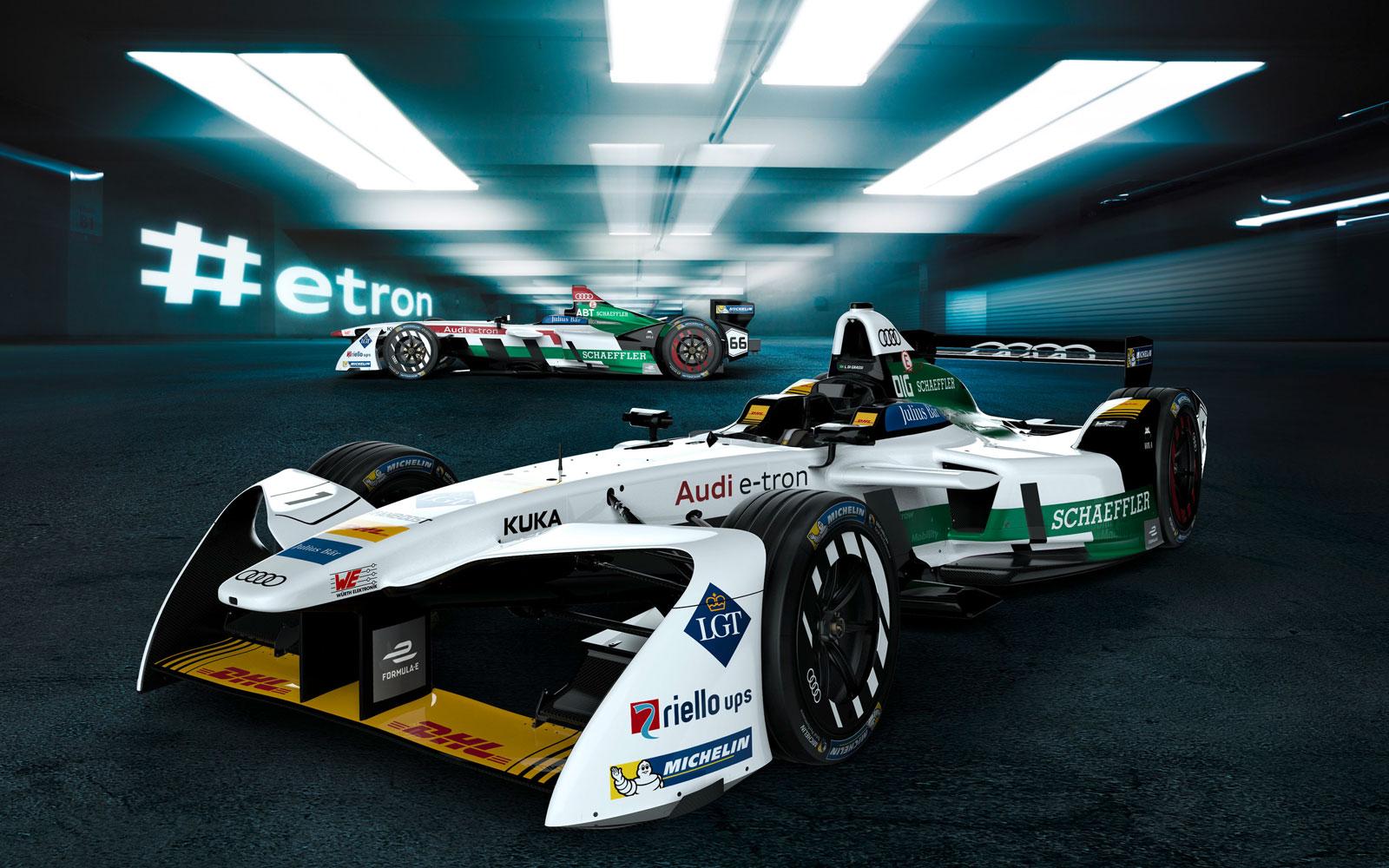 Audi se apunta a las carreras de Fórmula E con un monoplaza innovador