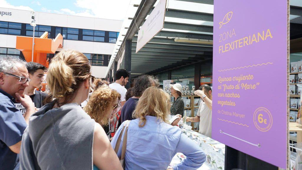 Cómo como festival Barcelona Entrevista Cadena SER Alimentación ecológica