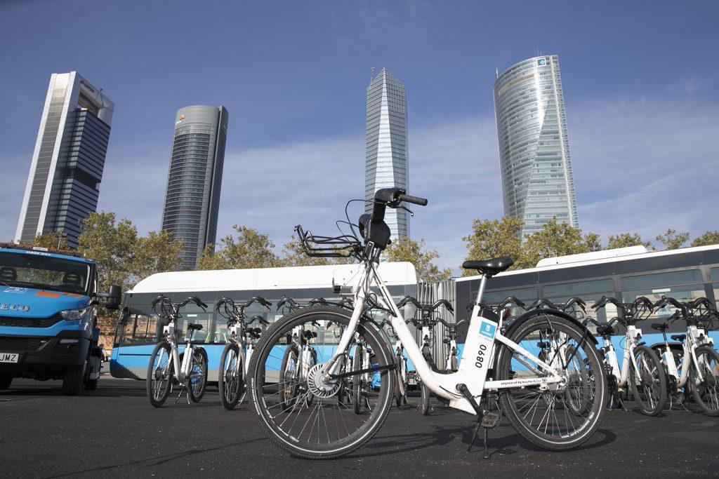 BiciMAD Madrid bicicletas M-30