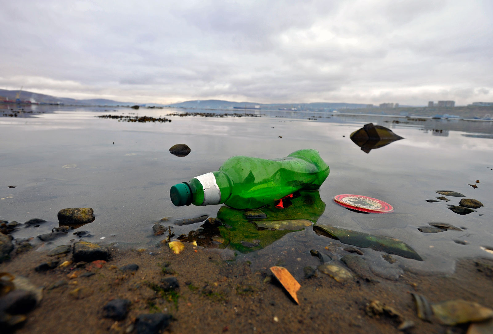 El Ártico también sufre la contaminación por plástico