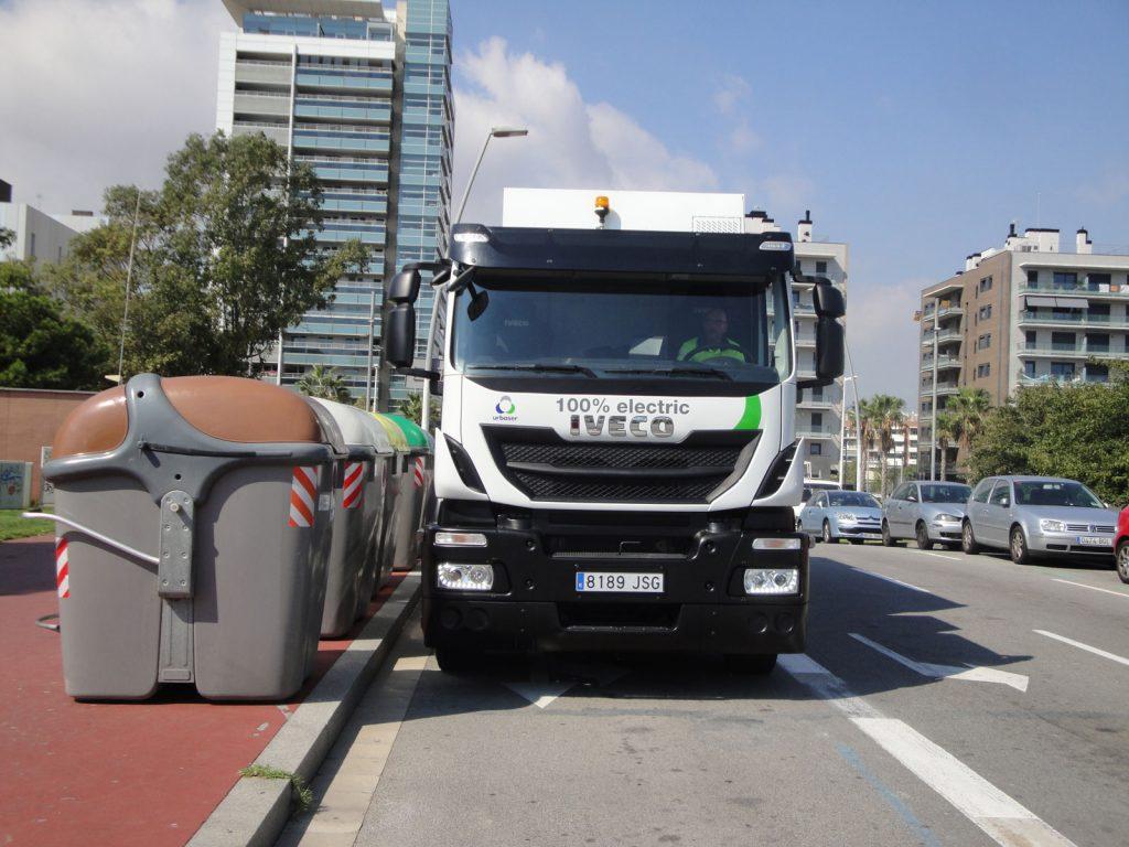 Urbaelectric camión de basura eléctrico recogida de residuos