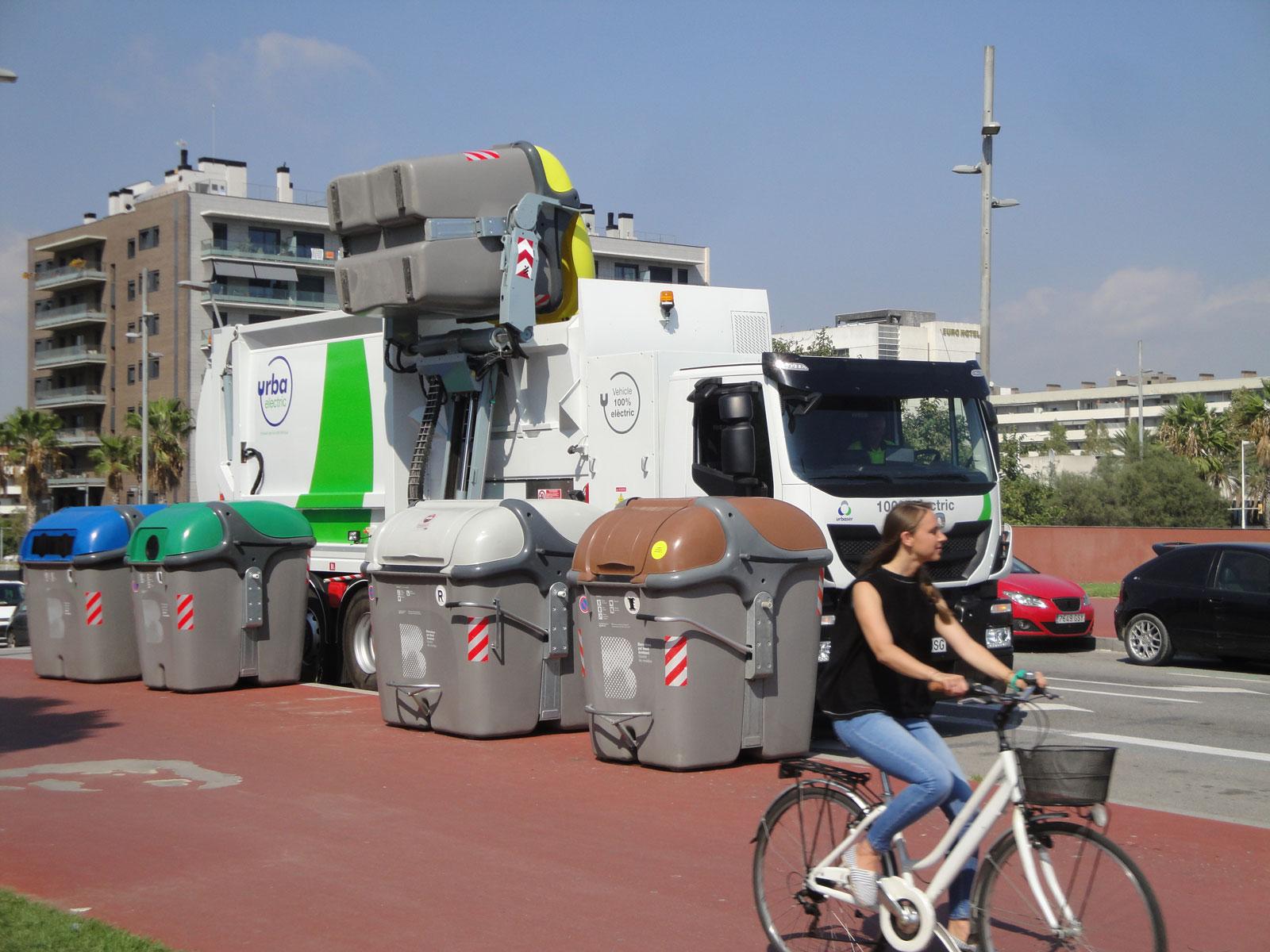 Recogida de residuos en barcelona