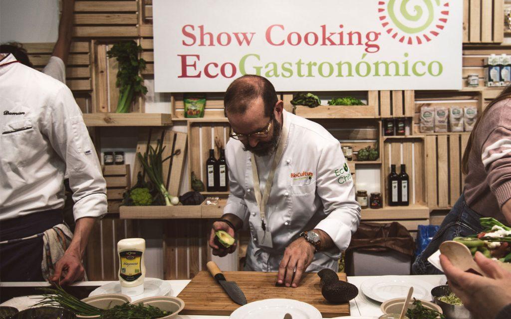 BIOCULTURA showcooking gastronomia ecologica
