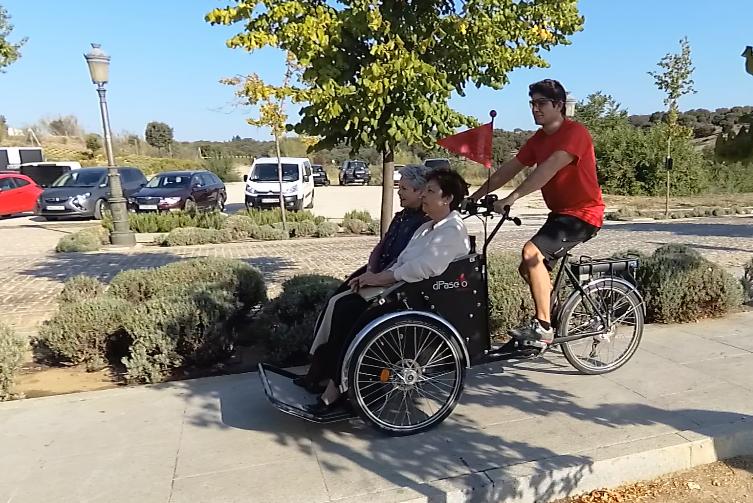 Paseos en bici para nuestros mayores