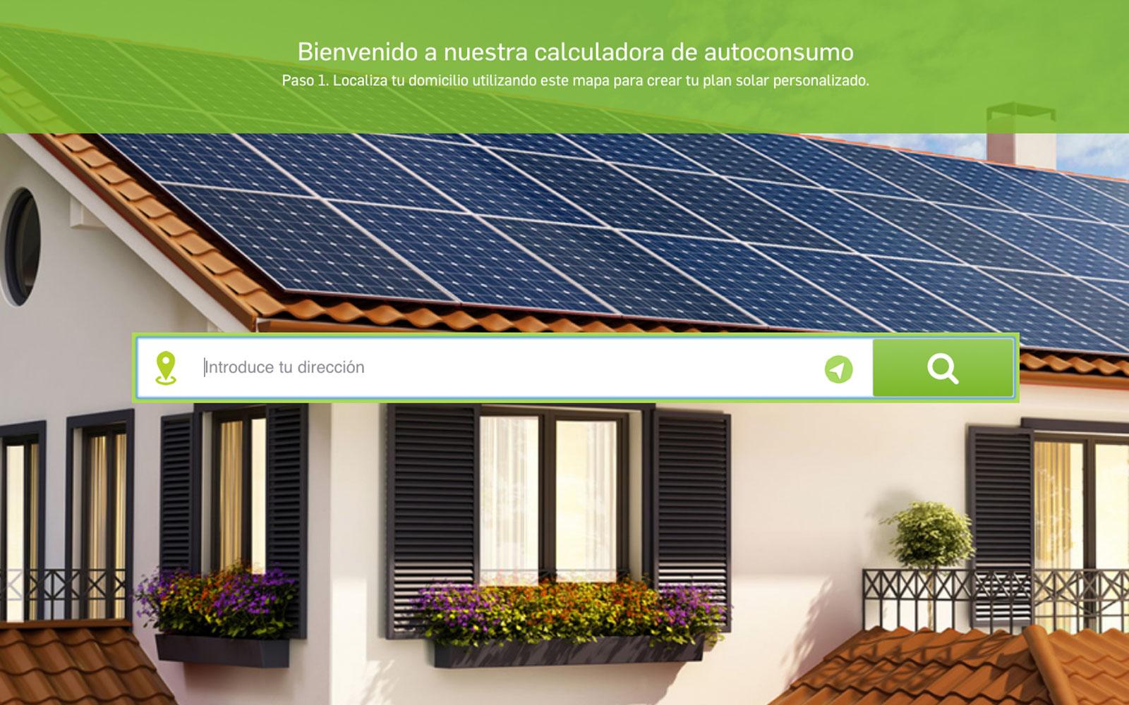Calculadora de autoconsumo fotovoltaico contigo energia Gesternova